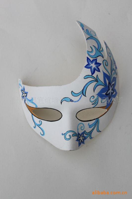 手绘纸浆面具图案大全图片 手绘好看的面具图案,手绘面具图案设计