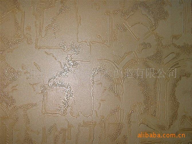 壁纸-韩国安德烈金抽象房子带闪粉墙纸JR价格