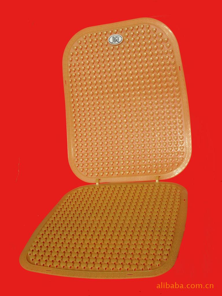 新款心型塑料汽车透气软坐垫(厂家直销)