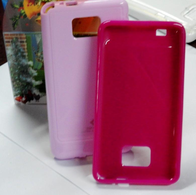 韩国SGP Samsung i9100手机套 TPU材质 手机