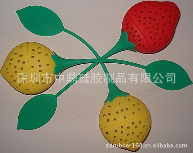 新款矽胶茶叶套 网状茶叶包 硅胶制品