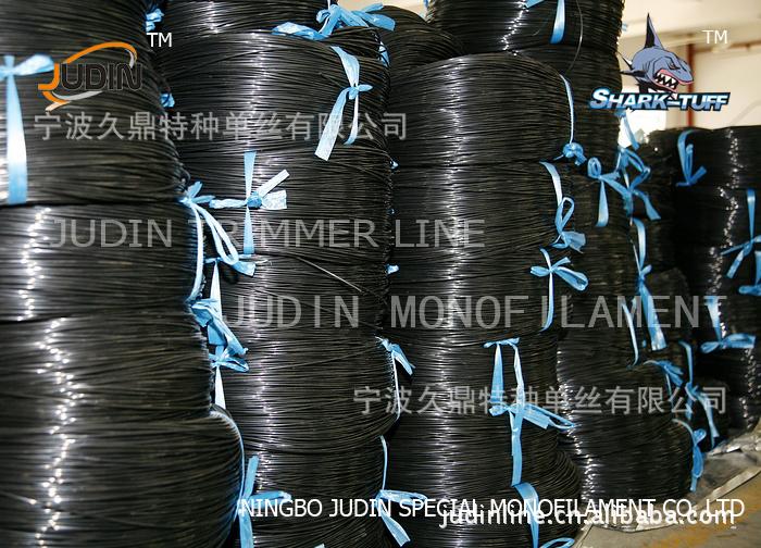 厂家直销 宁波久鼎塑钢线托幕线 特优级高强度低拉伸多规格
