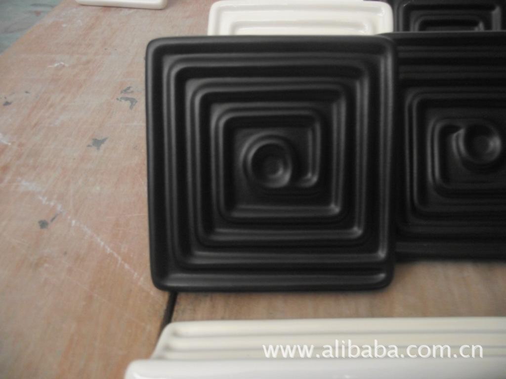 远红外陶瓷电热板(黑色无光)120*120吸塑机用BGA返修台用发热板图片_1