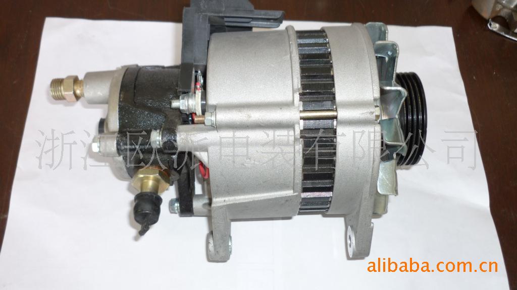 发电机 及配件 日立 6BD1 汽车交流 发电机 汽车图片