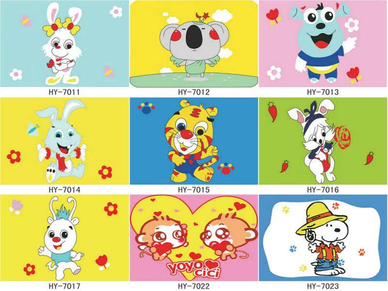 7051:10×15CM唐老鸭系列 儿童卡通动漫画系