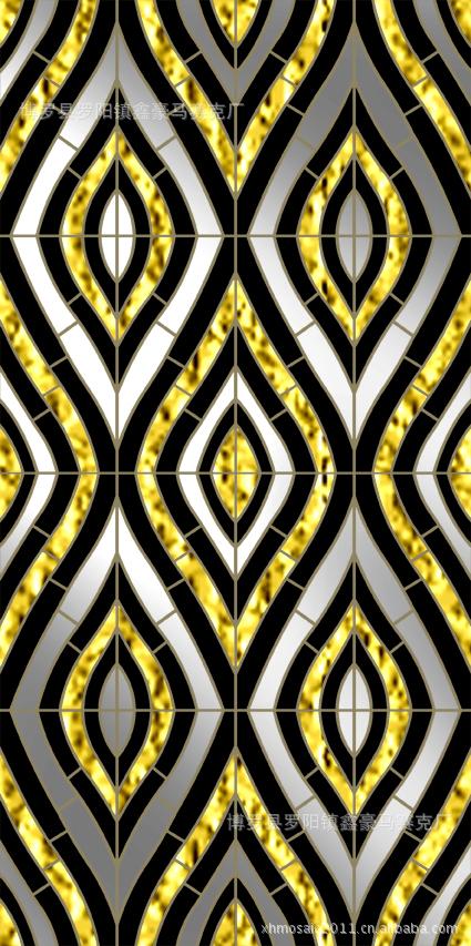 马赛克拼图,金银马赛克,艺术背景墙艺术拼图 -价格,厂家,图片