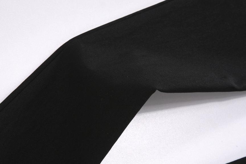 【2011韩版新款帅气女生休闲裤 百搭显瘦黑色