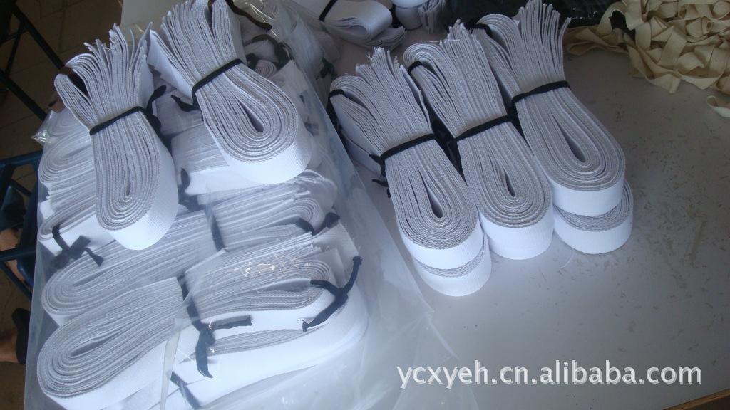 供应纯棉漂白棉带、4cm漂白织带