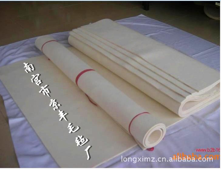 京丰厂家直销灰色工业羊毛毡,白色羊毛毡,工业毛毡。