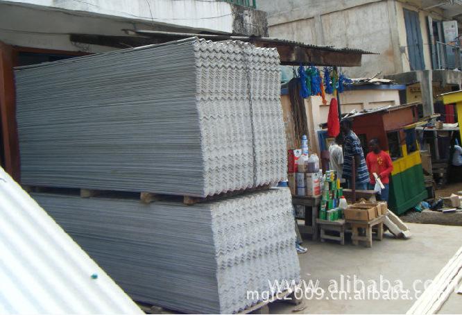 (出口全球)水泥石棉瓦,无石棉水泥纤维瓦,大中小波供您选择