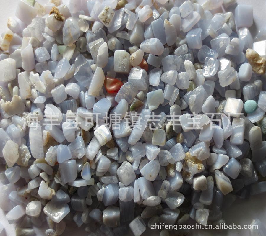 天然水晶碎石半宝石紫玛瑙碎石可用于各类不定形碎料花卉颗粒材料