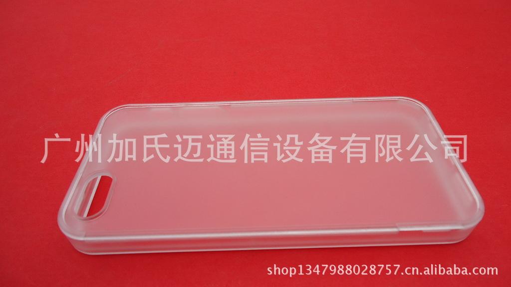 【手机iphone5可拆分带素材贴皮苹果凹槽壳】:PVC相框图片