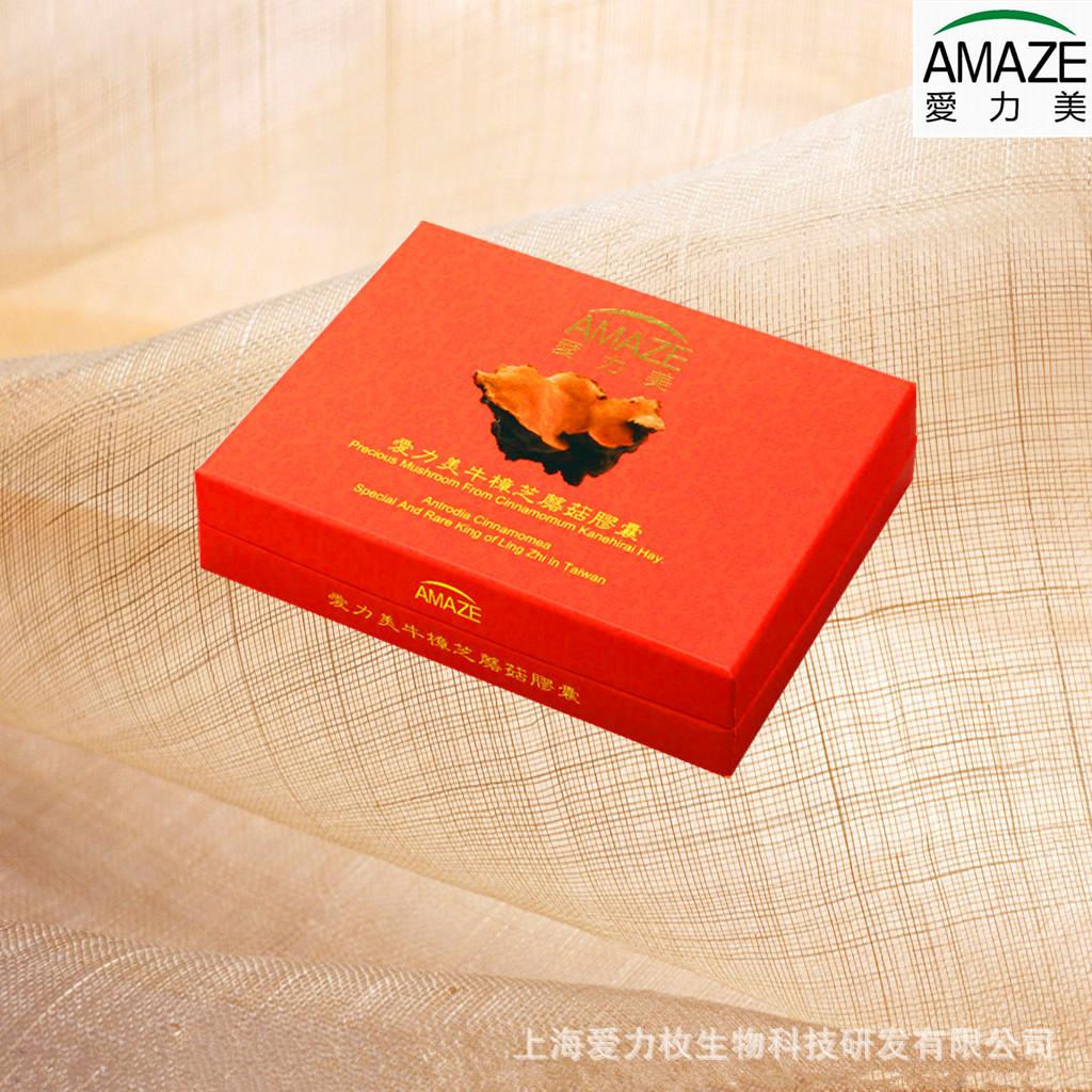 爱力美牛樟芝蘑菇胶囊 台湾牛樟芝 灵芝 解酒 降三高