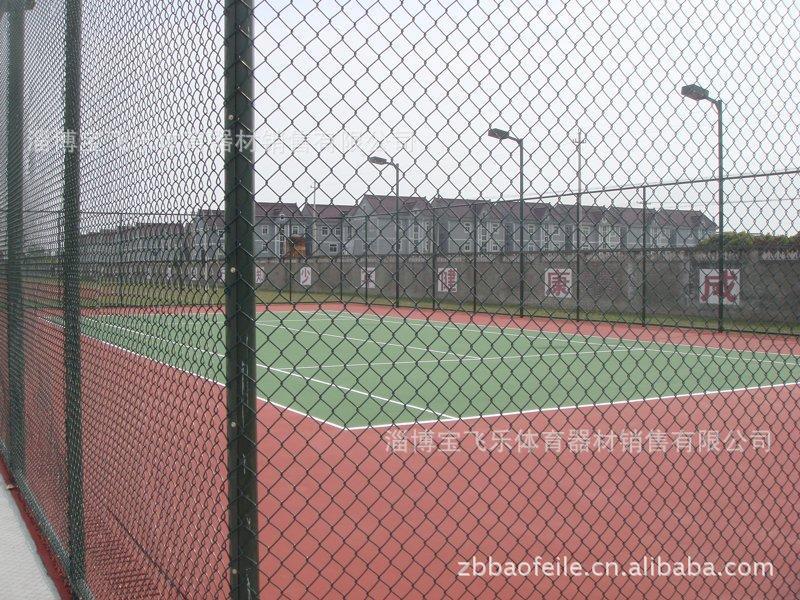 塑胶篮球场 塑胶网球场图片 工程图片