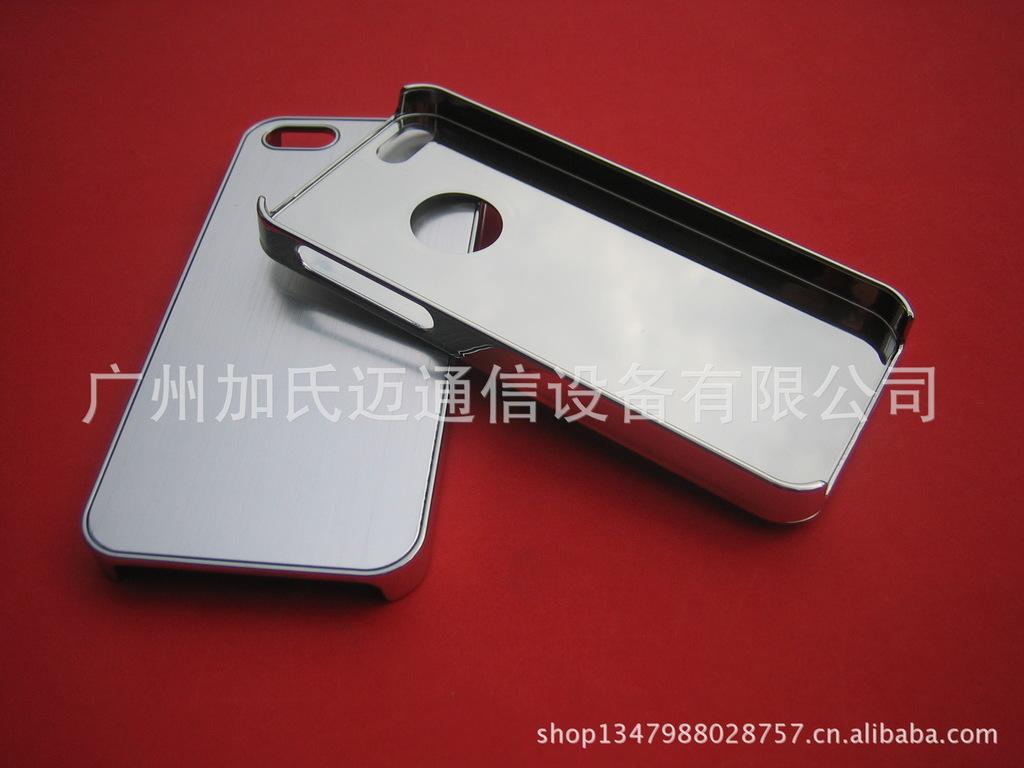 【苹果iphone5保护贴铝片拉丝金属手机电镀壳pur热熔胶机图片