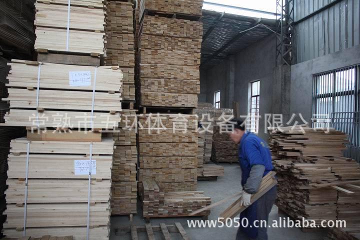 地板 运动场馆专用木地板 篮球场木地板 篮球场地运动地板 五环 生产