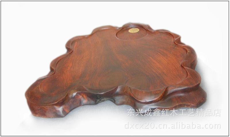 木质工艺品 实木摆件 创意 茶盘 红木 茶海 缅甸花
