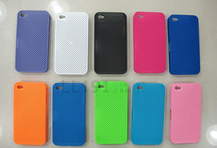 【爆款网孔散热好手机手机保护套IPHONE4手华为苹果官网注册图片