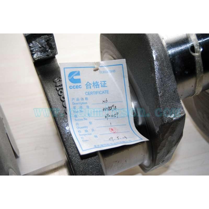 水泵机组康明斯曲轴总成 水泵机组用的K19发动机康明斯曲轴总成3418910曲轴总成