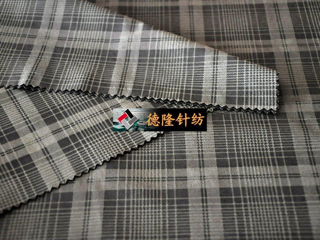 格子布 印花布 涤纶面料 经编 麂皮绒 烫金 服装面料 化纤布