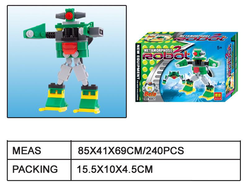 积木百变机器人系列