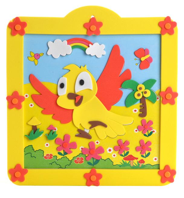 儿童贴画 智力拼图 diy玩具