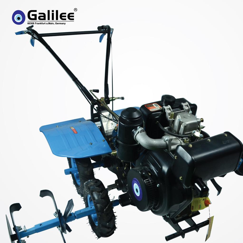 欧洲同步德国品牌Galilee 多功能微耕机震撼上市新品pncg 60163