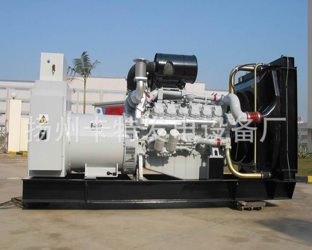 韩国大宇柴油发电机组 进口650KW柴油发电机组高清图片