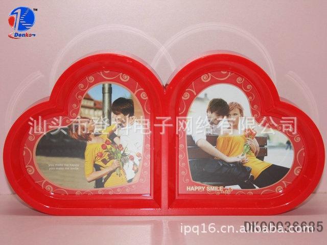 双桃心七寸 相框商务 礼品 ps相框 画框 室内装饰图片