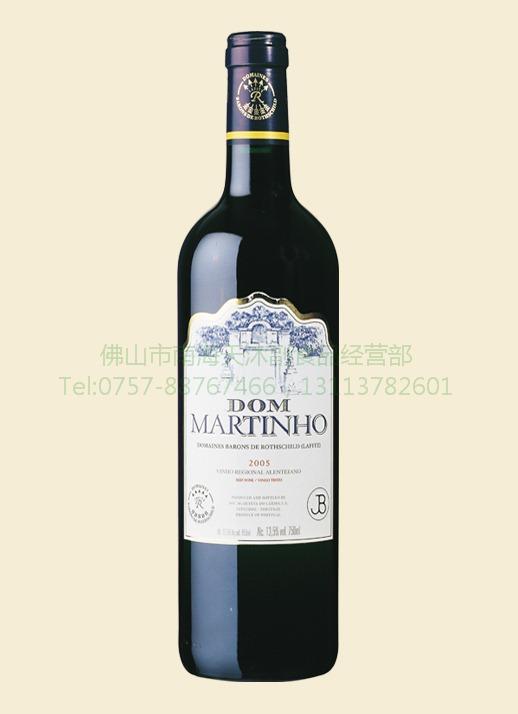 原装进口葡萄酒 拉菲副牌 唐马尔廷奥干红葡萄酒 2005 红...