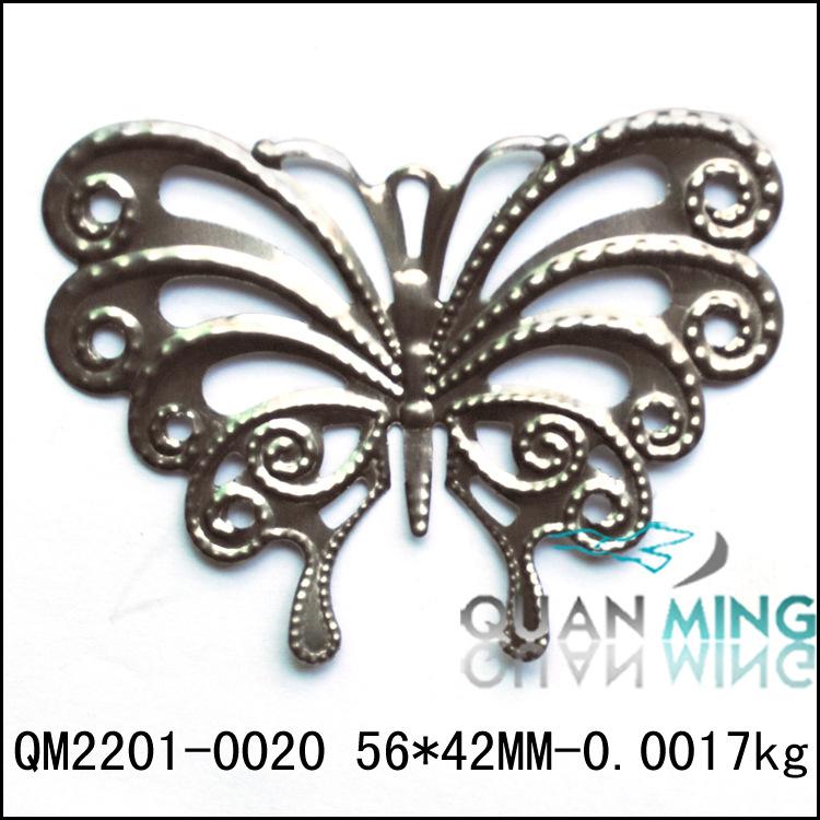 工艺品配件 铁艺精美小蝴蝶,装饰铁艺工艺品 蝴蝶配件 阿里巴巴