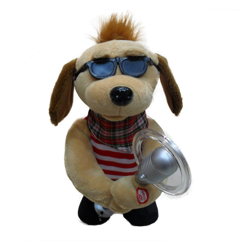 Electric toy microphone dogs, strange new products wholesale