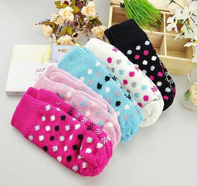 01新款时尚针织 保暖 冬季 手套厂家直销批发2