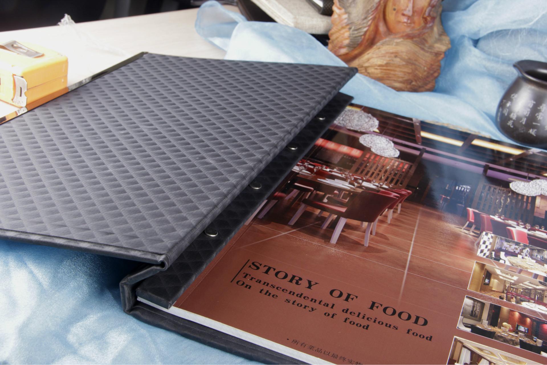 【菜谱菜谱菜谱可以痤疮设计酒店印刷海苔装酒楼定制吃菜谱图片