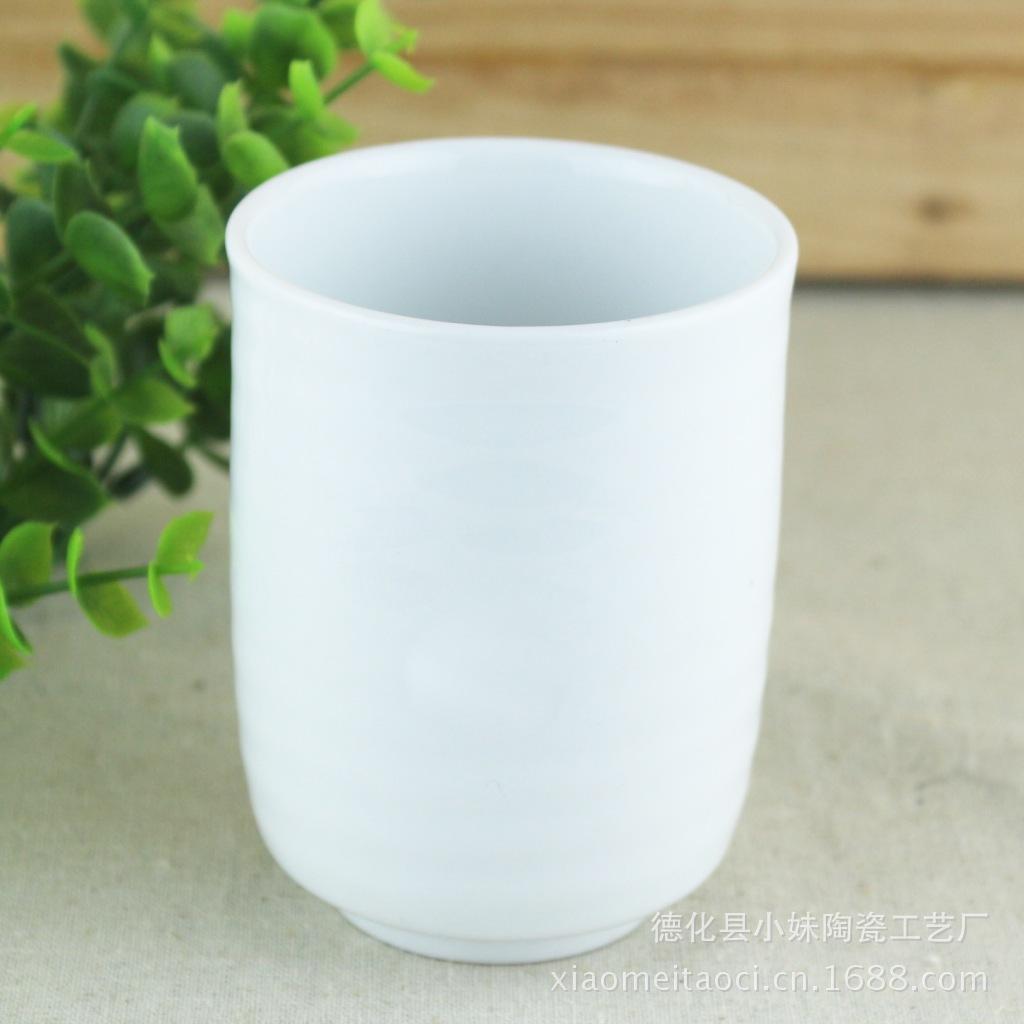 原單外貿***純白骨瓷陶瓷杯子咖啡杯馬克杯情侶水杯直身杯