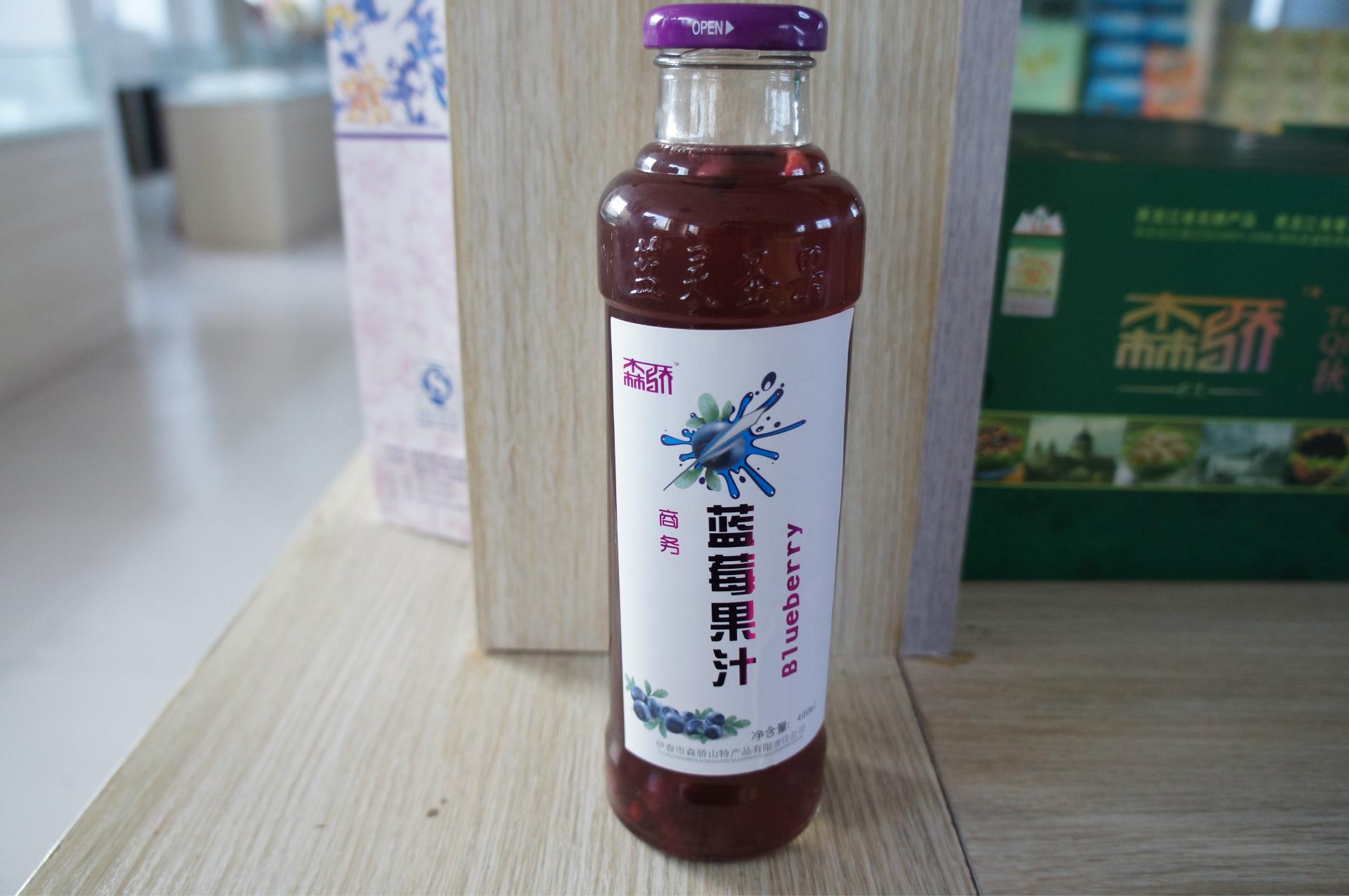 森骄牌蓝莓果汁图片二