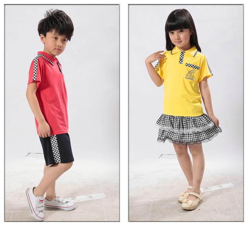 2013新款儿童校服 小学生校服 幼儿园园服 儿童套装校服批发批