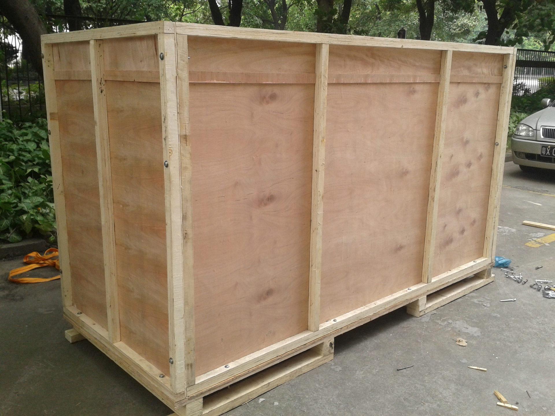 广州铭保包装机械设备出口免熏蒸木箱包装箱