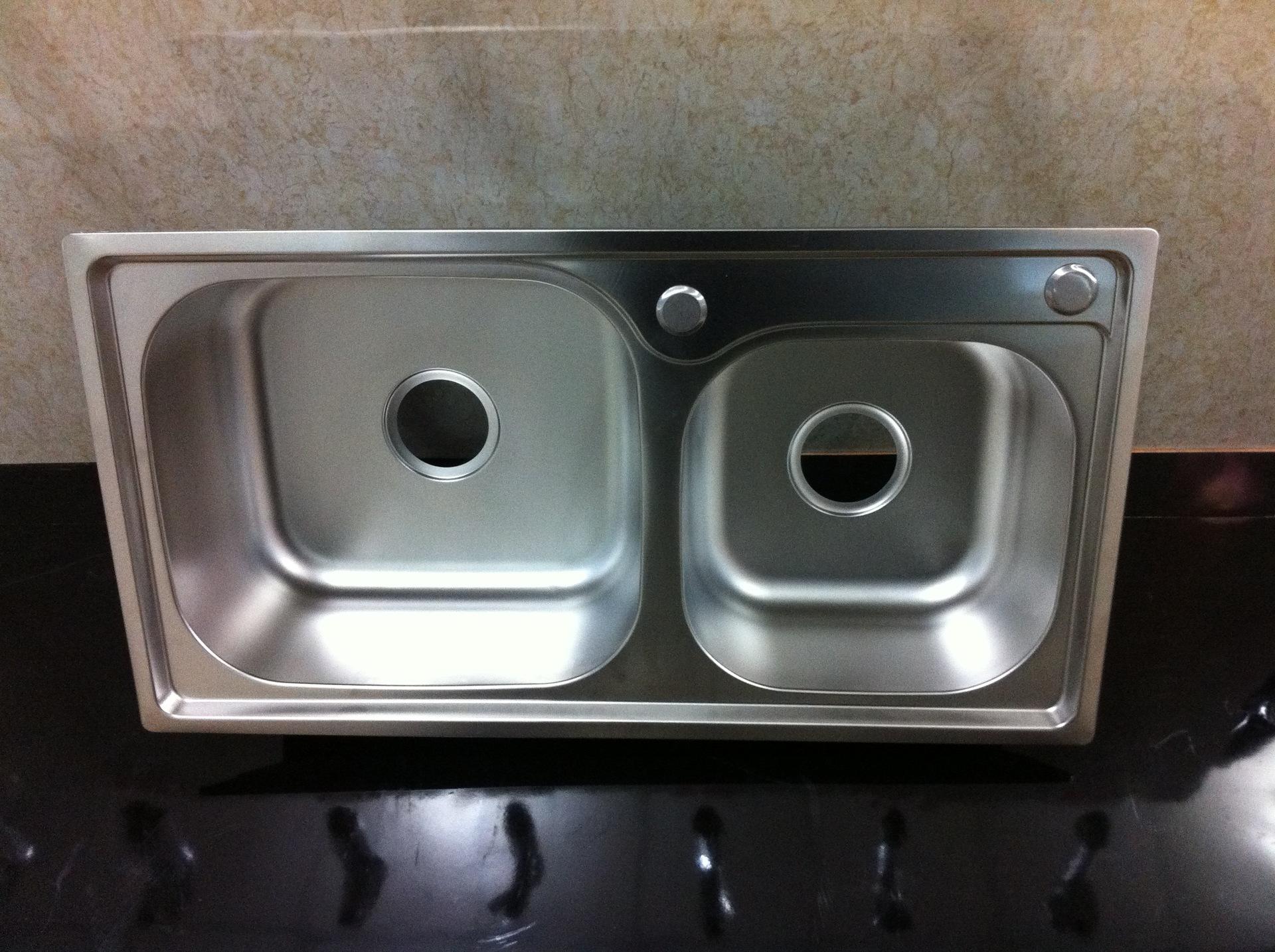 不锈钢水槽厂家不锈钢水槽定做不锈钢水槽下水器不锈钢水槽配件 -水