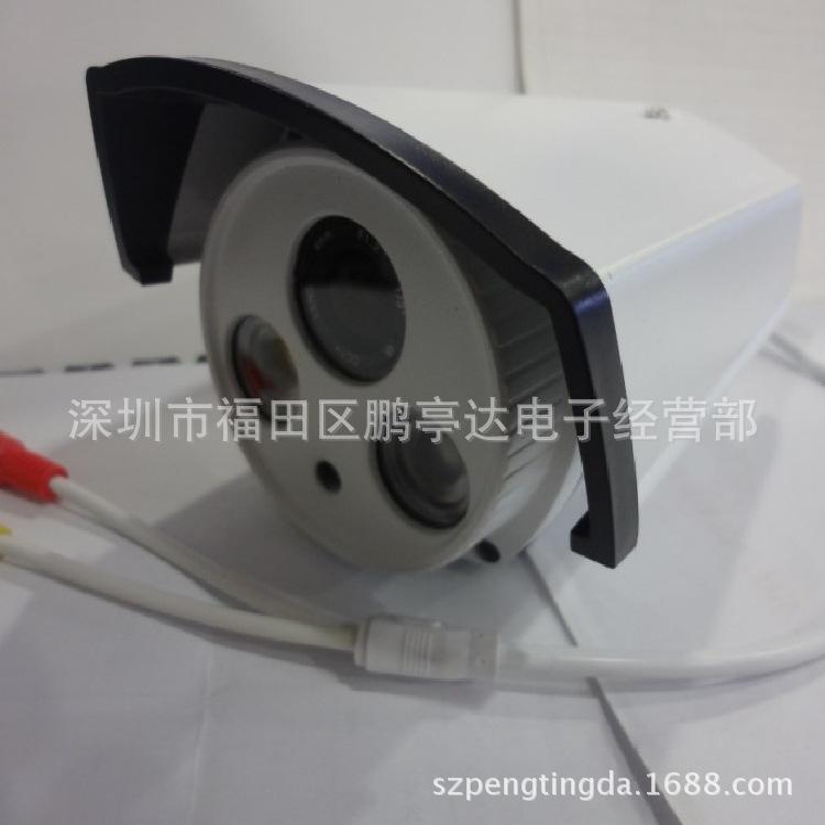 仿海康监控摄像头 红外线摄像头 阵列双灯摄像机 -价格,厂家,图图片