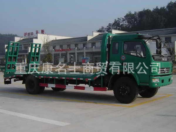 秋浦ACQ5164TPB平板运输车ISDe160东风康明斯发动机