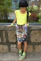 Женская юбка 13 ktz three-dimensional butterfly gem print slim hip skirt cat ears short skirt female 882