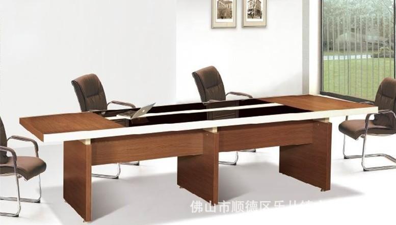厂家直销现代时尚三胺板板式办公大班桌会议台
