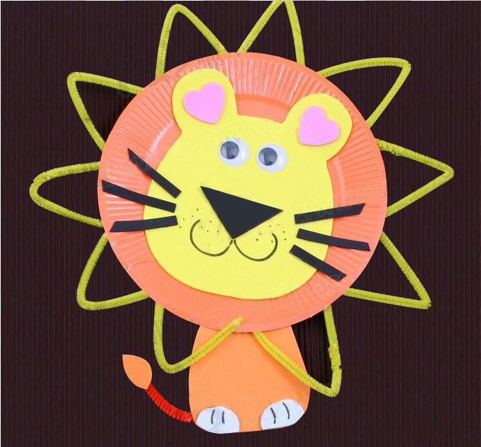 幼儿园手工材料手工diy儿童手工制作纸盘-7寸混色纸