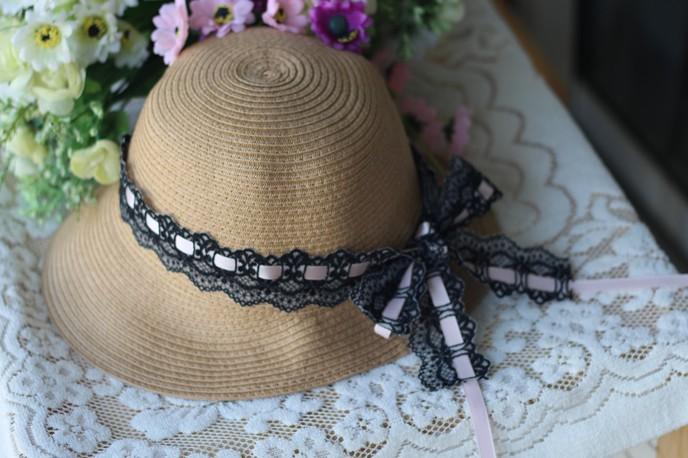 采购标签-独家小a标签夏季帽子韩版草药品优质时尚帽子印刷图片