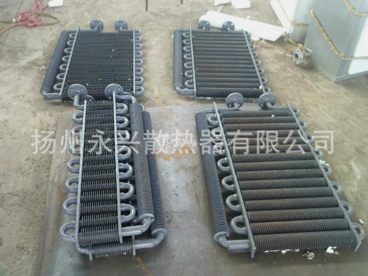 钢制散热器、钢制散热排管、高频焊翅片管散热器 45元每米