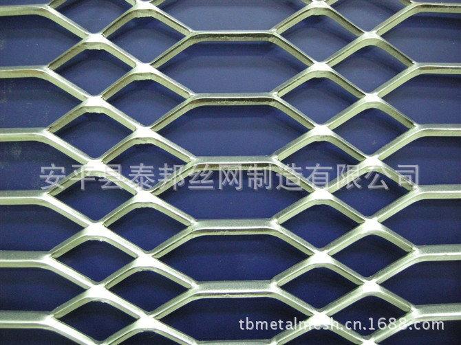 厂家生产 平台钢板网 菱形钢板网 小型钢板网