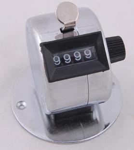 台式手动计数器/机械手动计数器/带底座全金属手动计次器 实验