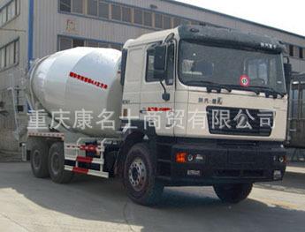 银盾JYC5257GJB混凝土搅拌运输车ISME345 30西安康明斯发动机