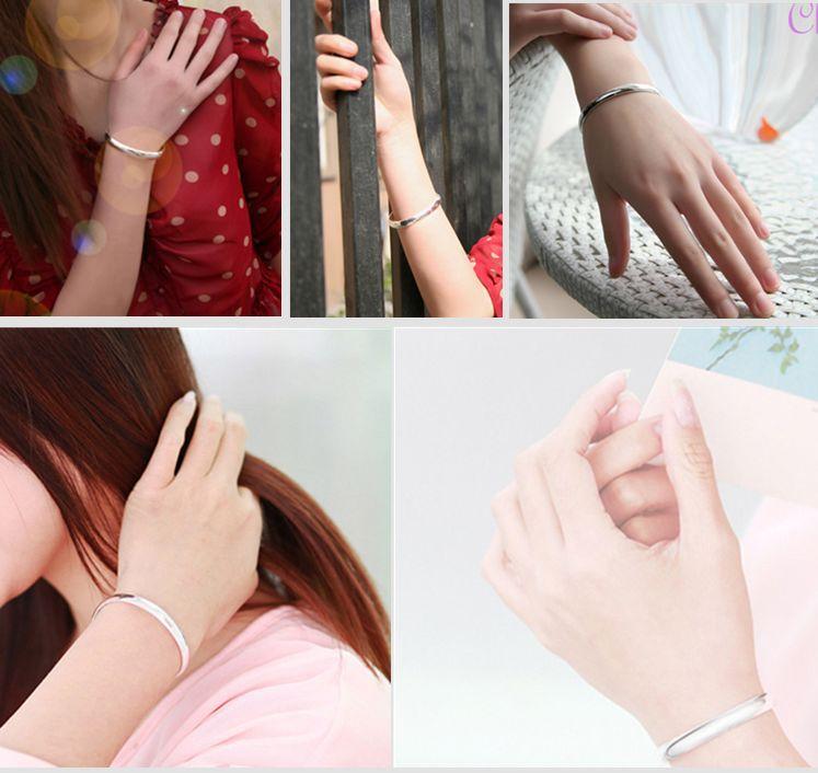 韩国饰品 光面开口手镯 时尚外贸批发 高档手环 新款流行